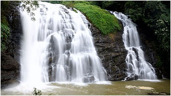 THE WONDERFUL WATERFALLS OF COORG